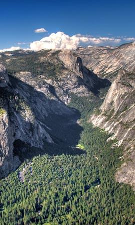 Yosemite National Park - Glacier Point