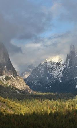 Yosemite National Park - view
